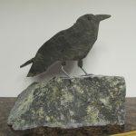 Cate Culver rock sculpture